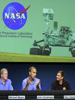 NASA火星新闻发布会